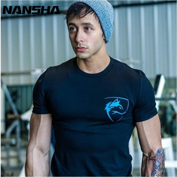 New ALPHALETE Stringer T-shirt  Men Gyms T-shirt Bodybuilding and Fitness  Men's Tank Shirts Casual Men's T-shirt