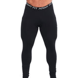 LEGGINGS « COLLANTS» DE COMPRESSION POUR HOMMES NOIR