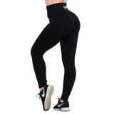 Crunch leggings Taille Haute V Noir | Crunches Leggings V Waist BLACK