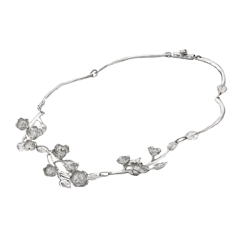 Cherry Blossom Full Branch Necklace