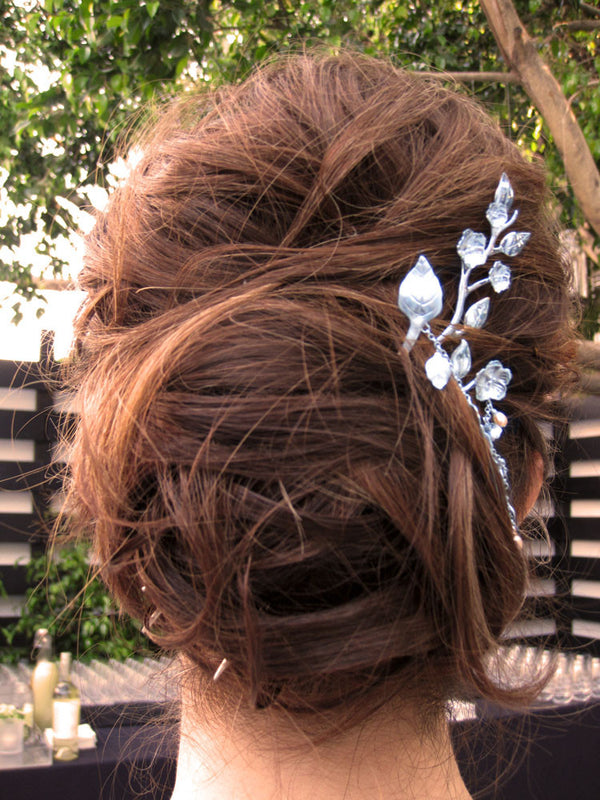 Summer Cascading Leaf Hairpin