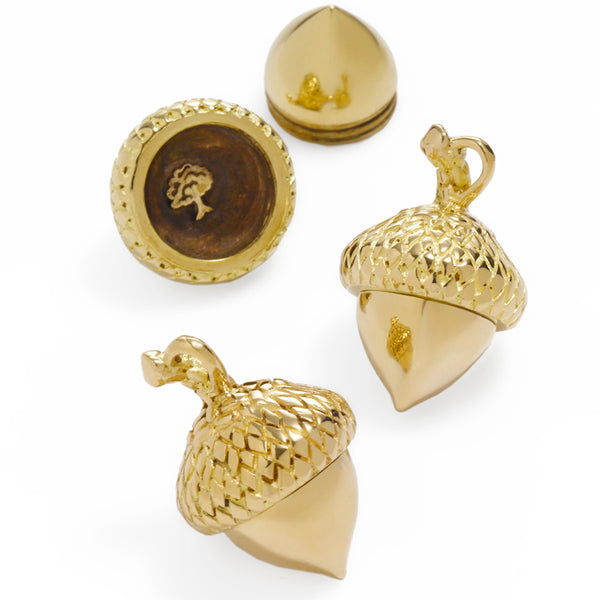 The Oak Tree Medium Acorn Charm