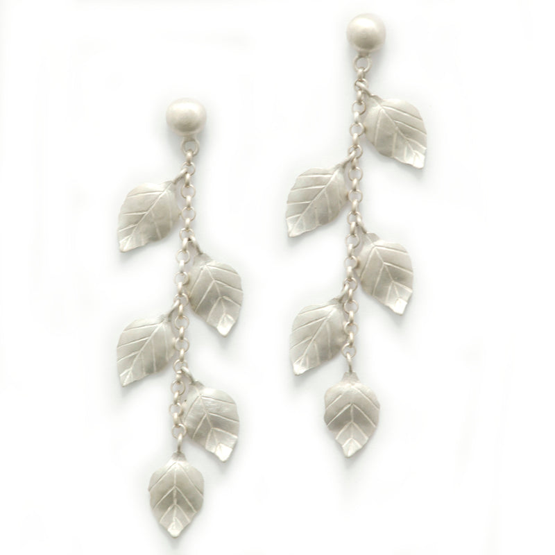 Summer Leaves Dangling Earrings