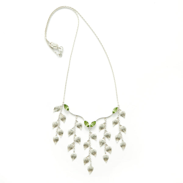 Summer Peridot Necklace