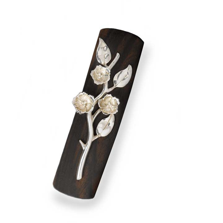 Cherry Blossom Wood Clip