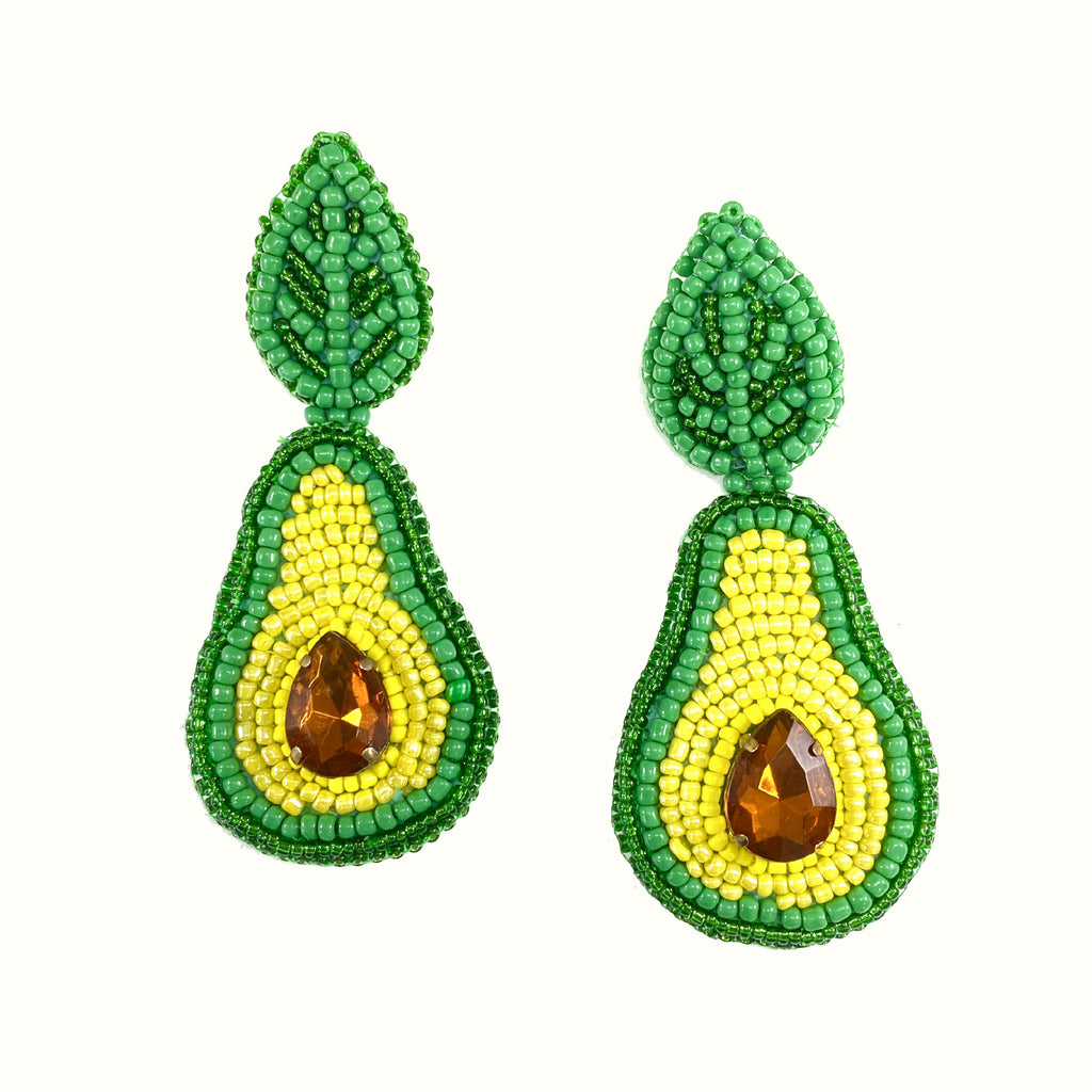 Avocados | Handcrafted Earrings