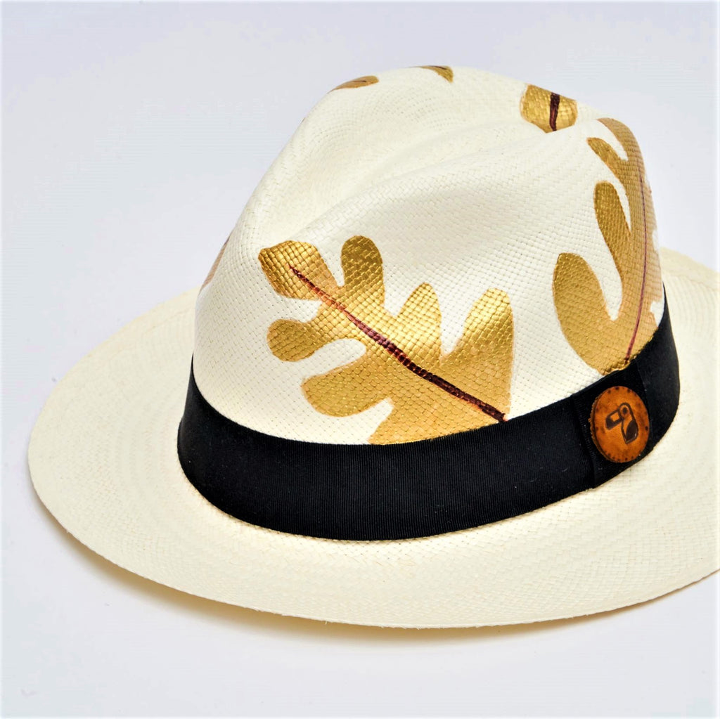 Luxe Leaf | Colombianas Hats