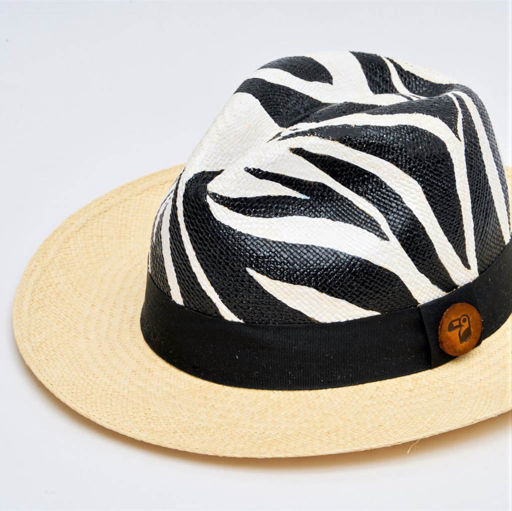Roaming Zebra | Colombianas Hats