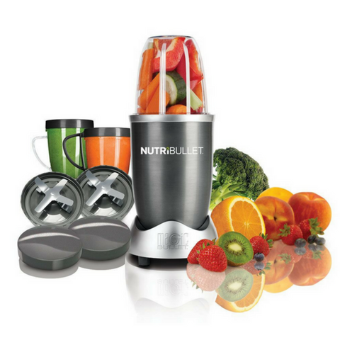 NutriBullet 8 Piece Nutrition Blender / Extractor Set  - Grey