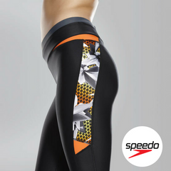 Speedo Women's Hydra Fizz Capri Pants - Side Close up