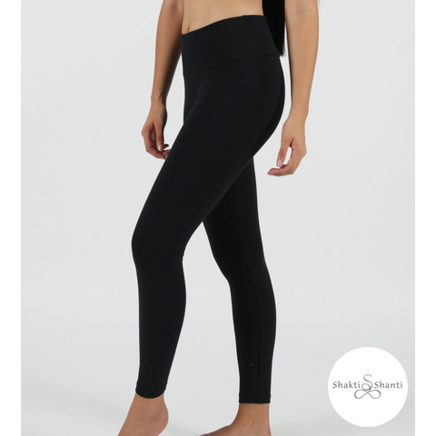 Shakti Shanti Yogawear -  Leggings Extra Length (Black)