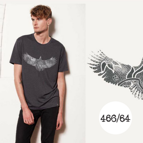 466/64 Legacy Range Men's Eagle Print T-shirt