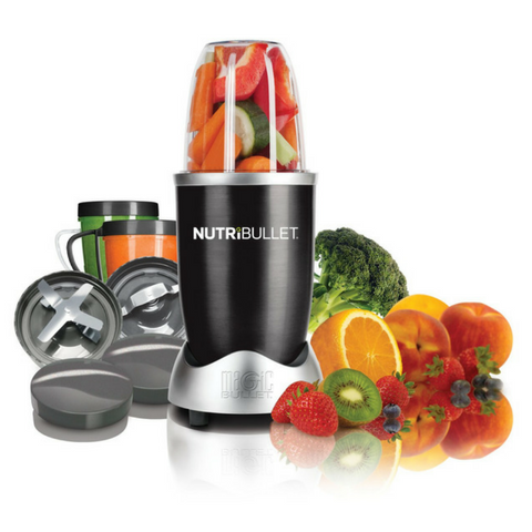 NutriBullet 8 Piece Nutrition Blender / Extractor Set  - Black