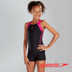 Speedo Girl's Boom Splice Legsuit