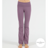 Shakti Shanti Yogawear -  Wide Band Bootleg Pants Regular Length (Aubergine)