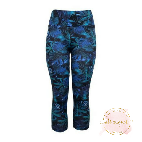 Ali August The Blues Capri Leggings