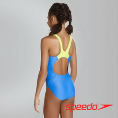 Speedo Girl's Boom Splice Muscleback Swimsuit