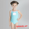 Speedo Girl's Cosmic Cloud Essential Thinstrap 1 Piece