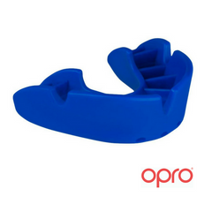 Opro Bronze Mouthguard - Blue