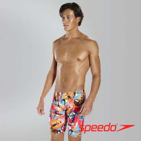 Speedo Teen Males Flipturns Solar Pavola Allover V Jammer