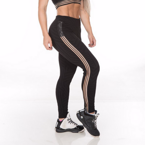 Gym Rocks Women's Jacquard Legging