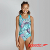 Speedo Girl's Tribe Idol Splashback Swimsuit