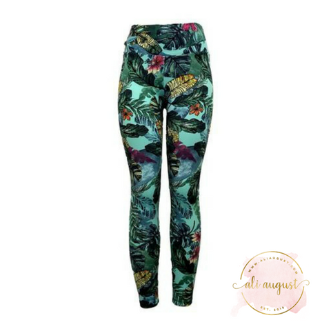 Ali August My Secret Garden Leggings