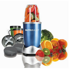 NutriBullet 8 Piece Nutrition Blender / Extractor Set  - Blue