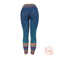 Ali August The Anna Pattern Leggings Back