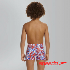 Speedo Boy's Space Traveller Essential Allover Aquashorts