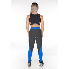Gym Rocks Women's Blue Blossom Legging
