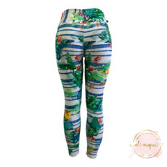 Ali August Flourishing Forest Leggings Back