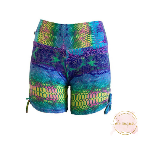 Ali August Mermaid Tie Side Shorts Shorts