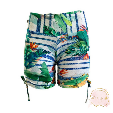 Ali August Flourishing Forest Tie Side Shorts