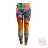 Ali August Paco the Parrot Pattern Leggings