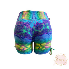 Ali August Mermaid Tie Side Shorts Shorts Back