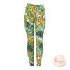 Ali August Pineapple Express Pattern Leggings