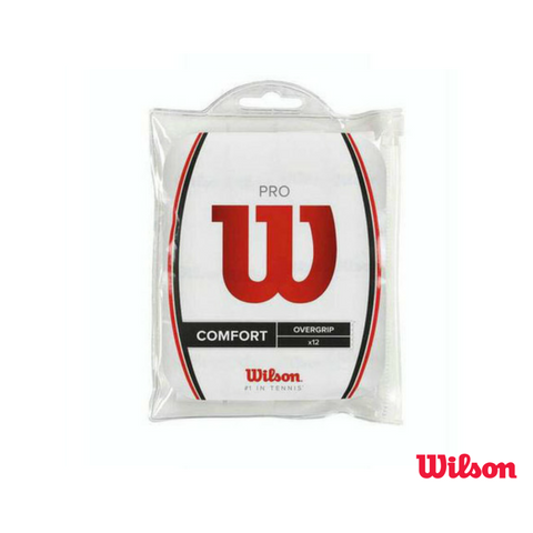 Wilson Accessories Pro Overgrips (Pack of 12)
