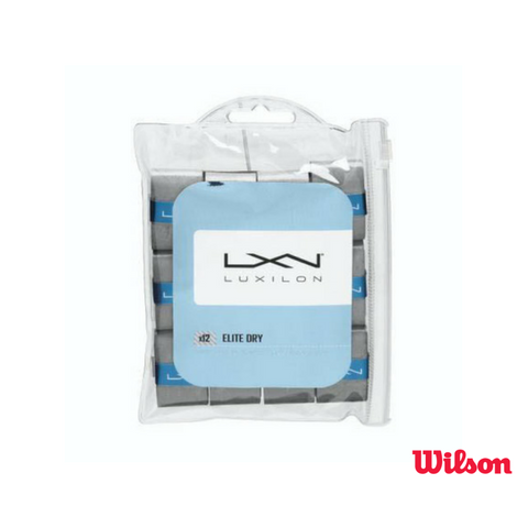 Wilson Accessories Luxilon Elite Dry Overgrip 12 Pack