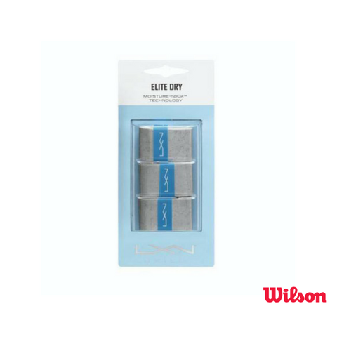 Wilson Accessories Luxilon Elite Dry Overgrip 3 Pack
