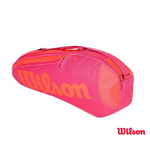 Wilson Bag Burn Team Rush Pink & Red 3 Pack