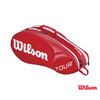 Wilson Bag Tour Moulded 2.0 6 Pack Red