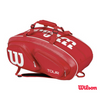 Wilson Bag Tour V 15 Pack Red