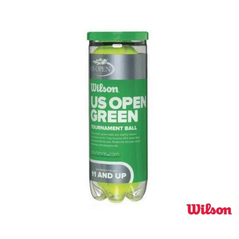 Wilson Accessories US Open Green Tournament 3 ball tin Junior