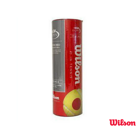 Wilson Accessories Red 3 ball tin Junior