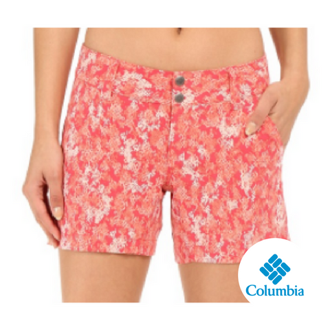 Columbia Women's Saturday Trail Printed Shorts