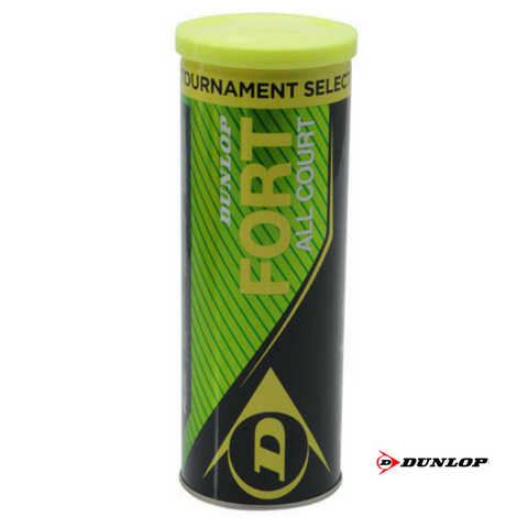 Dunlop Fort All Court Sea Level Tennis Balls