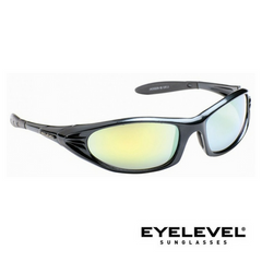 Eyelevel Jackson Polycarbonate Sports and Leisure Sunglasses - Black