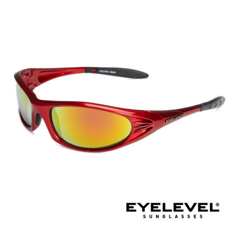 Eyelevel Jackson Polycarbonate Sports and Leisure Sunglasses - Red