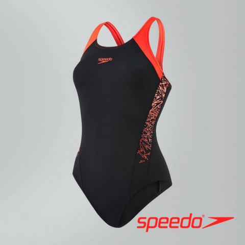 Speedo Women's Boom Splice Muscleback Swimsuit